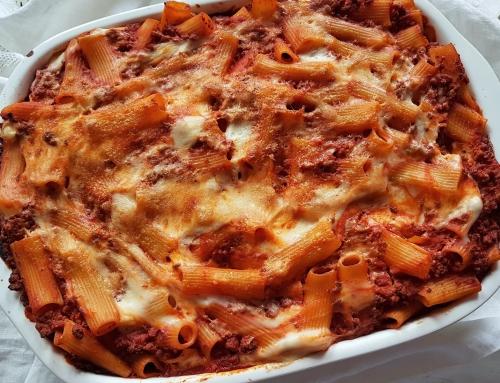 Con e Senza Bimby, Pasta al Forno al Ragù, Besciamella e Formaggio – Piatto di Natale